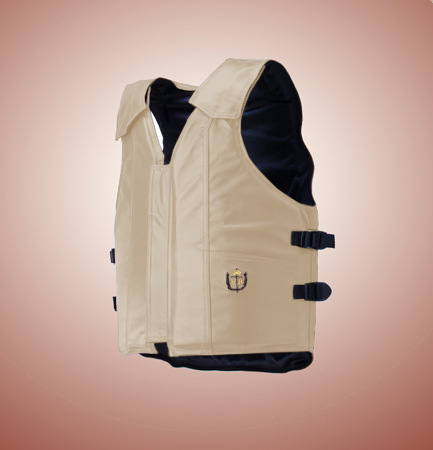 1000 Series, Saddle Bronc Vest, Leather, Standard Colors