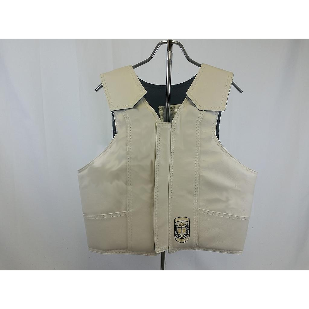 "ProRider8"" (PR8) Bull Riding Vest, Leather, Standard Colors"