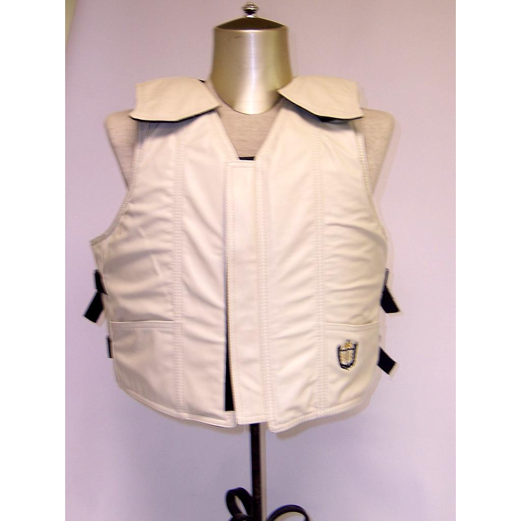 1200 Series Bull Riding Vest, Leather, Standard Colors