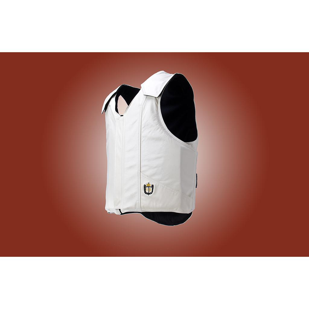1200 Wrap Bull Riding Vest, Leather, Standard Colors