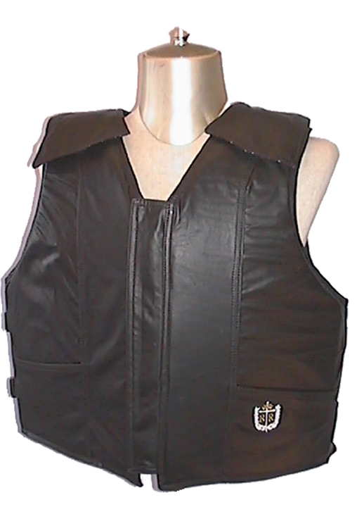 Lambert Barstow Bareback Vest, Leather, Custom Color