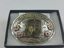 Ride Right Belt Buckle