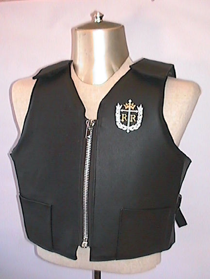 Competitor Vest, Youth, Leather