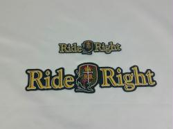Ride Right Patch - 10""