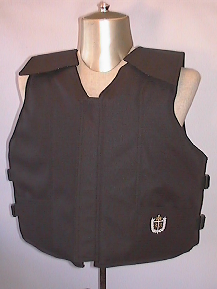 1200 Series Bull Riding Vest, Polyduck, Custom Color